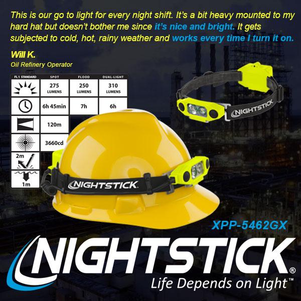 Bayco, Headlamp, X-Series Intrinsically Safe
