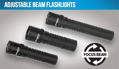 Adjustable Beam Flashlights