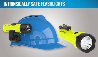 Intrinsically Safe Flashlights