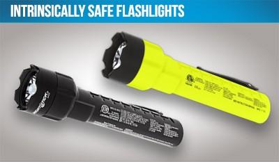 Intrinsically Safe Flashlights